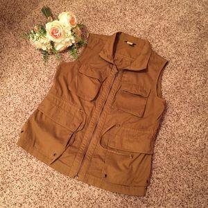 J. Crew Military Style Vest